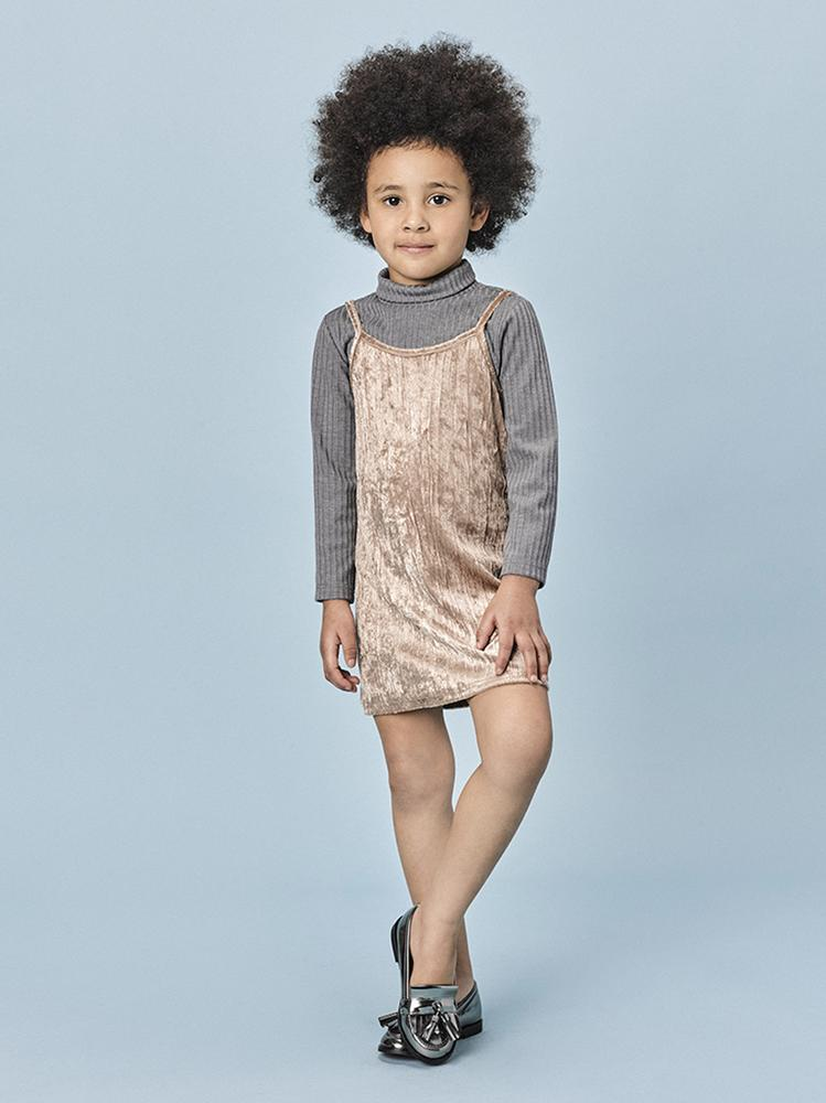 Fiona Dress - Goldie